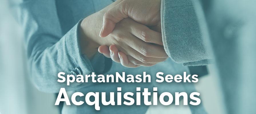SpartanNash Seeking Acquisitions, CEO Dennis Eidson Says