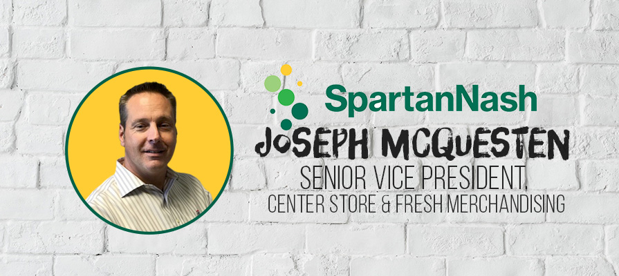 SpartanNash Promotes Joseph McQuesten to Senior Vice President, Center Store and Fresh Merchandising