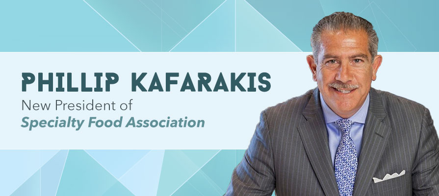 Specialty Food Association Names Phillip M. Kafarakis as New President