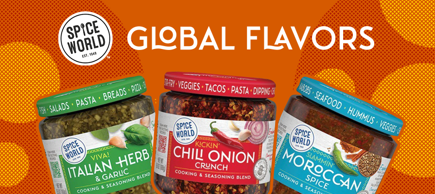 Spice World Launches New Line of Global Flavors