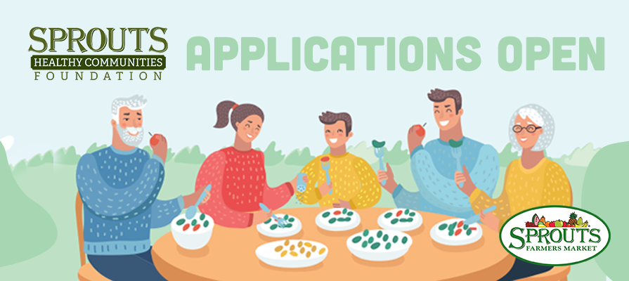 Sprouts Healthy Communities Foundation Accepting Applications for 2020 Neighborhood Grants Program