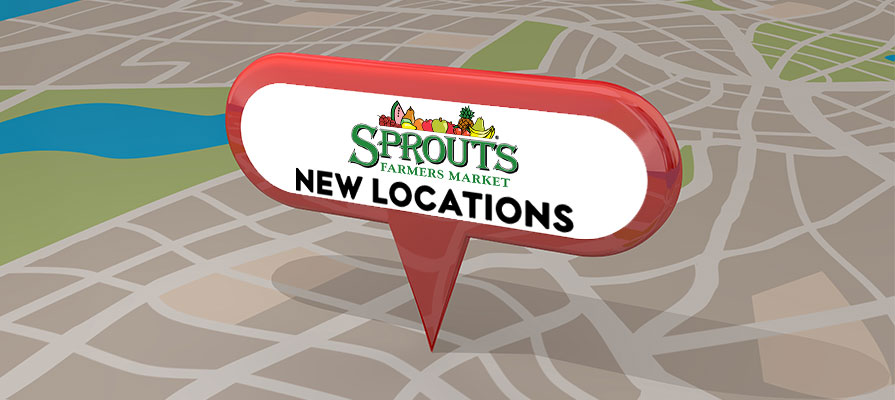 Sprouts Farmers Market Set to Open Four New Locations