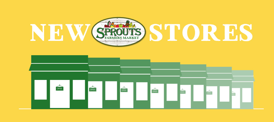 Sprouts Farmers Market Announces New Stores Openings for 2019