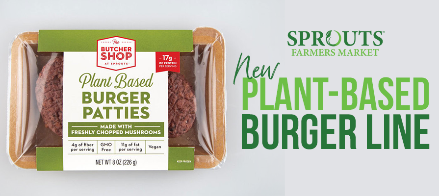 Sprouts Farmers Market Launches New Plant-Based Burger Line