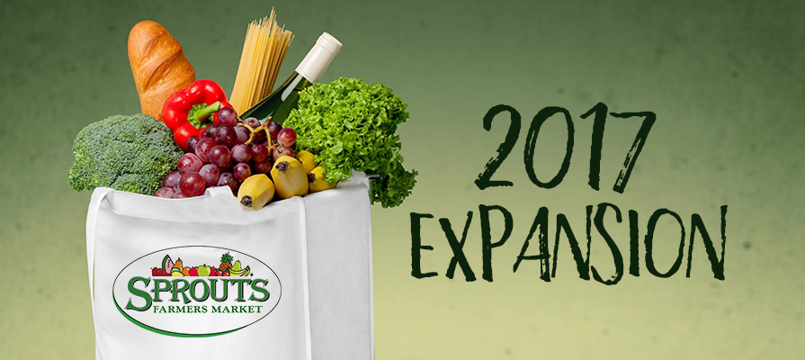 Sprouts Announces Expansion to Span Over Five States