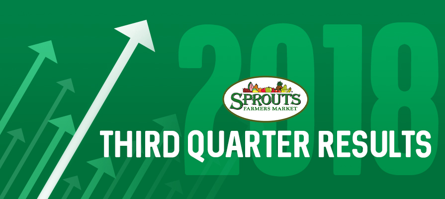 Sprouts Farmers Market Reports Third Quarter 2018 Results