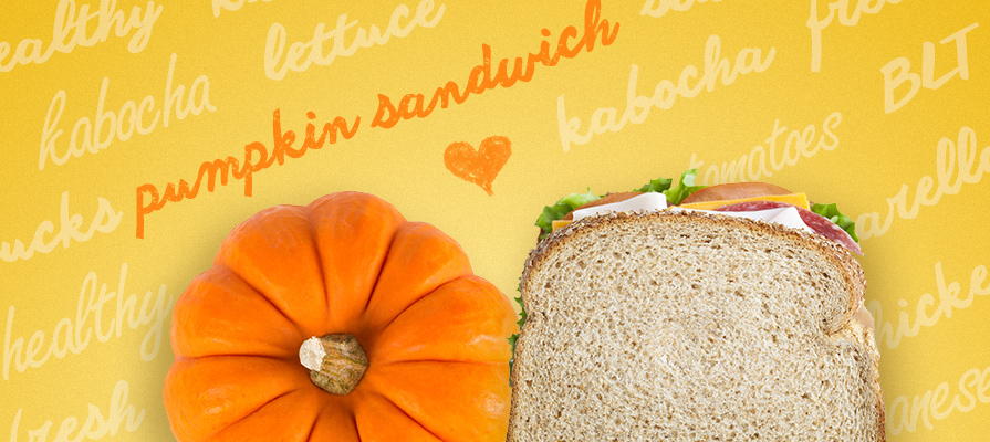Japan Starbucks Pushes Pumpkin for Sandwiches