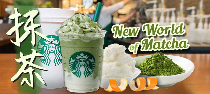 Starbucks Japan Announces New Green Tea Cheese Frappaccino and Citrus Green Tea