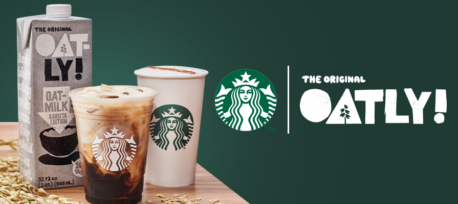 Oatly Announces Partnership With Starbucks