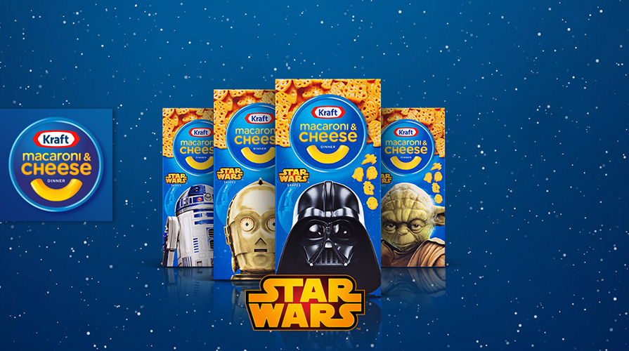 Kraft Macaroni & Cheese Launches New Star Wars Campaign