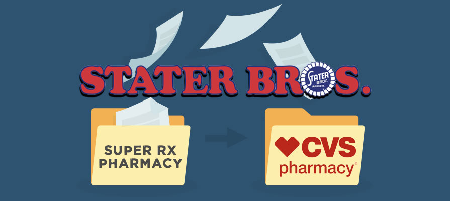 Stater Bros. Transfers Assets of SuperRX to CVS Pharmacy