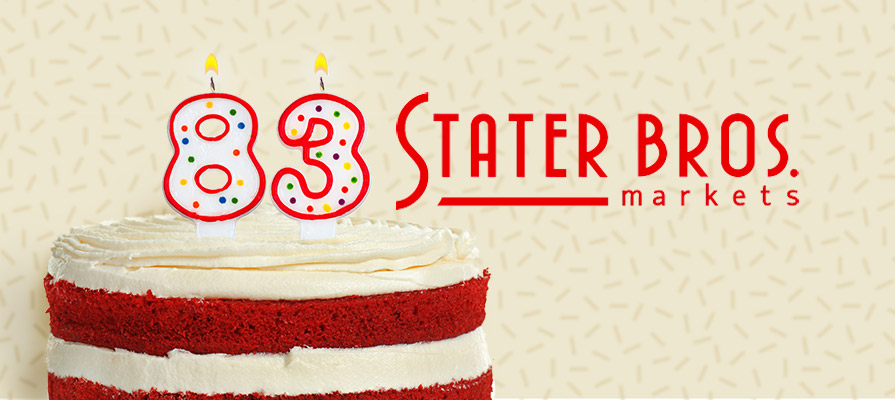 Stater Bros. Celebrates 83rd Anniversary With Brand Refresh