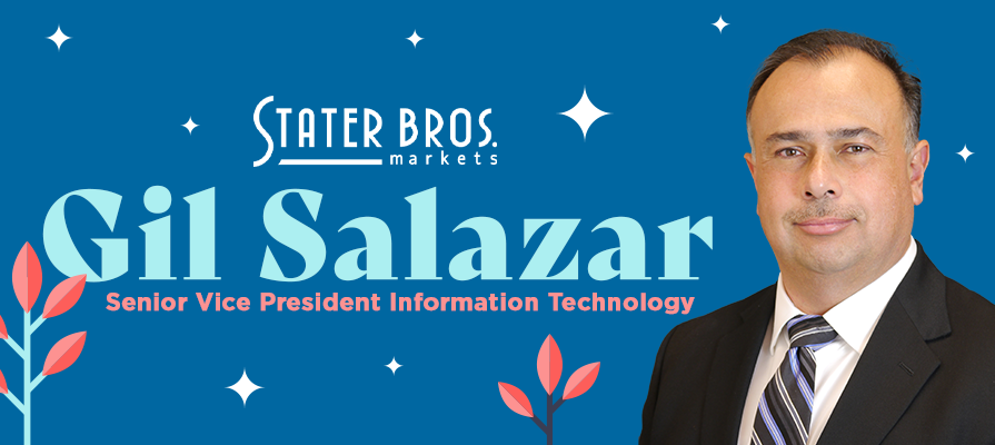 Stater Bros. Markets Promotes Gil Salazar to Senior Vice President Information Technology
