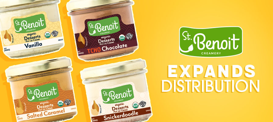St. Benoit Creamery Expands Distribution of New Organic Desserts