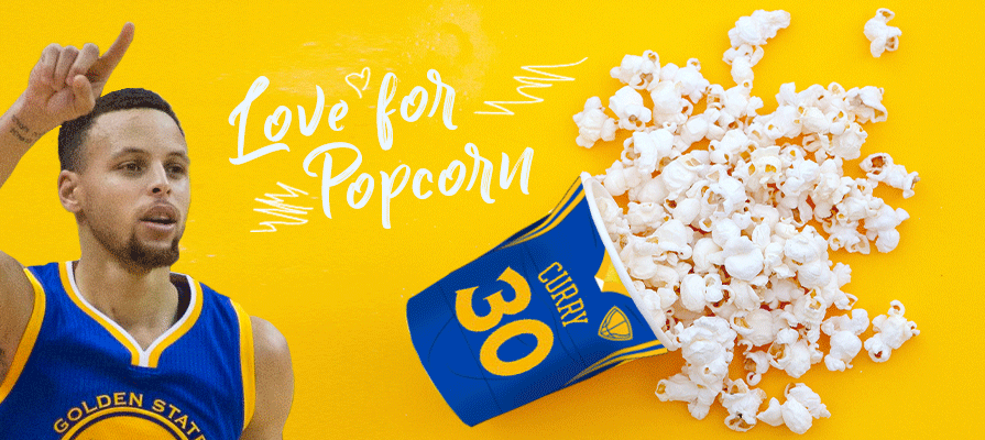 Does Steph Curry Have a Popcorn Problem?