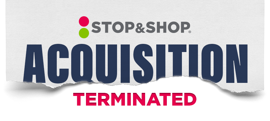 Stop & Shop and King Kullen Halt Acquisition Agreement