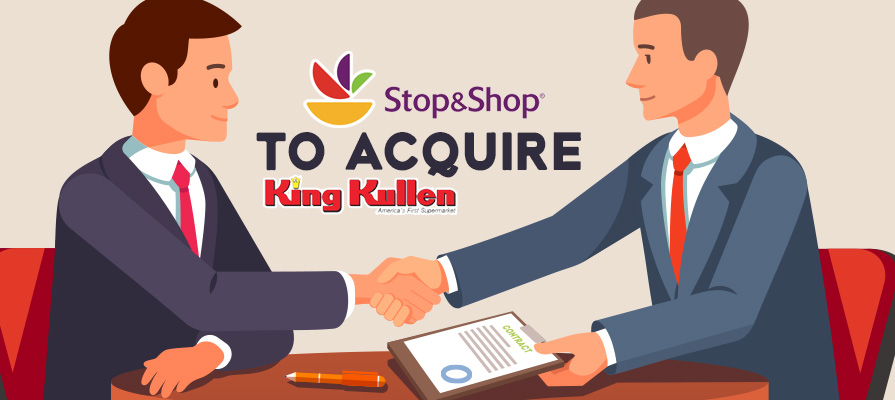 Ahold Delhaize's Stop & Shop Banner to Acquire King Kullen Grocery Chain
