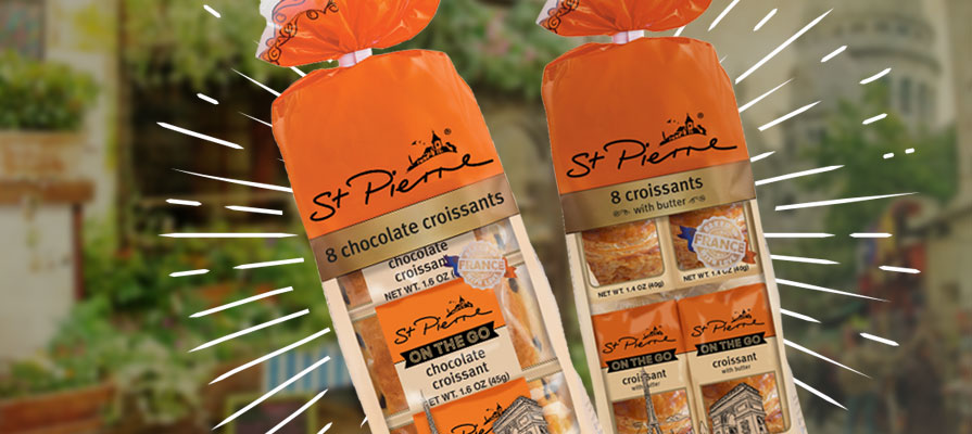 St Pierre Announces Expansion with New Butter Croissants and Chocolate Croissants
