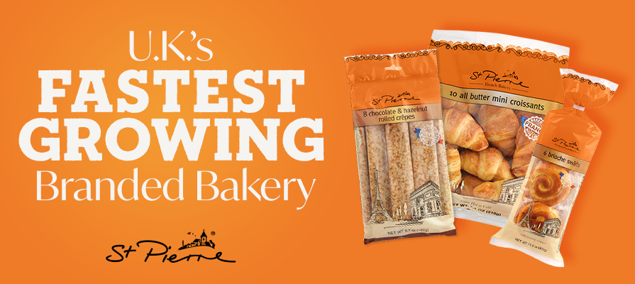St Pierre Groupe Now U.K.'s Fastest Growing Branded Bakery Business