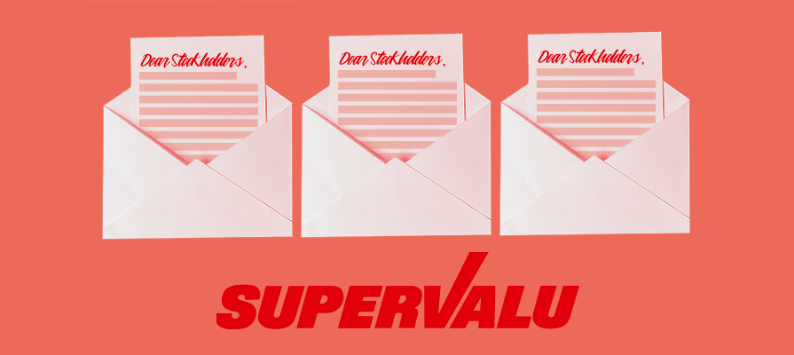 SuperValu Issues Letter to Stockholders