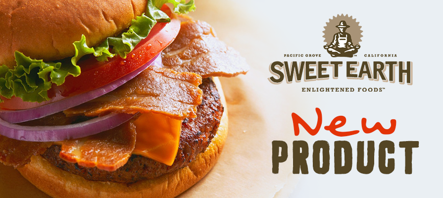Sweet Earth® Launches Plant-Based Bac'n Cheezeburger in Foodservice