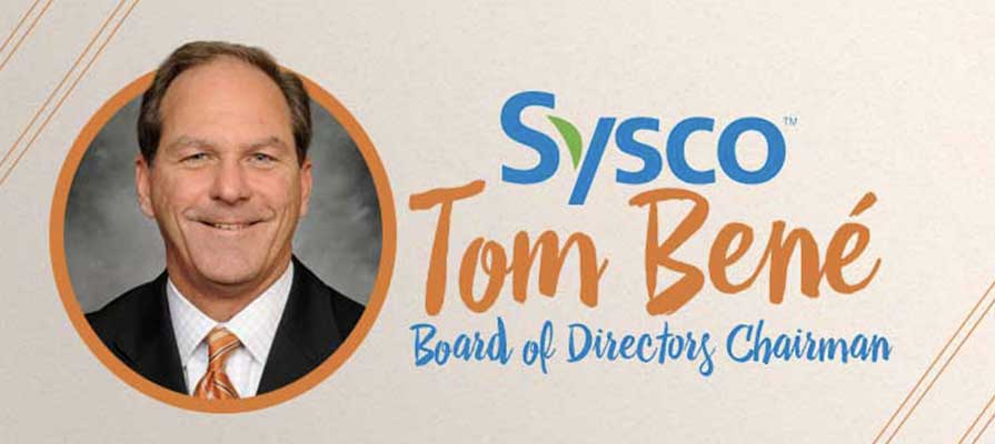 Sysco Welcomes Tom Bené as Chairman of Board of Directors