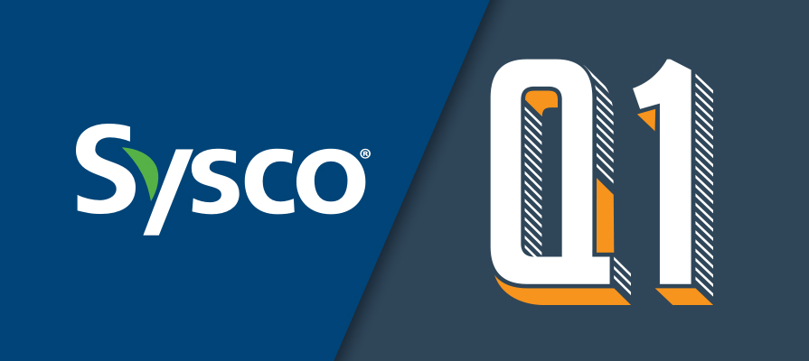 Sysco Announces First Quarter Fiscal 2020 Financial Results