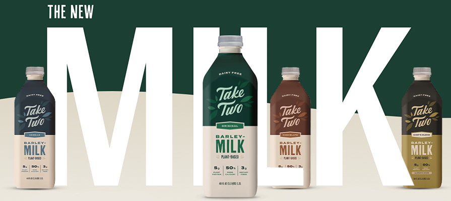 Take Two Foods Launches Barley-Based Milk