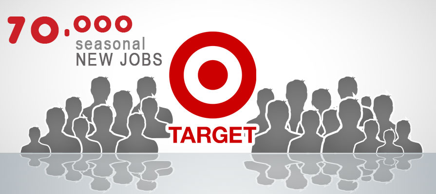 Target to Hire 70,000 Employees for Holiday Season