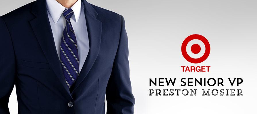 Target Names Preston Mosier Senior Vice President, Fulfillment Operations