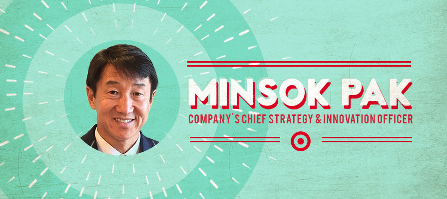 Target Names Minsok Pak As New Chief Strategy and Innovation Officer