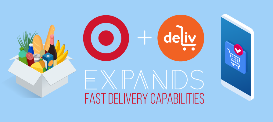 Target In Talks to Buy Deliv's Grocery Delivery Technology