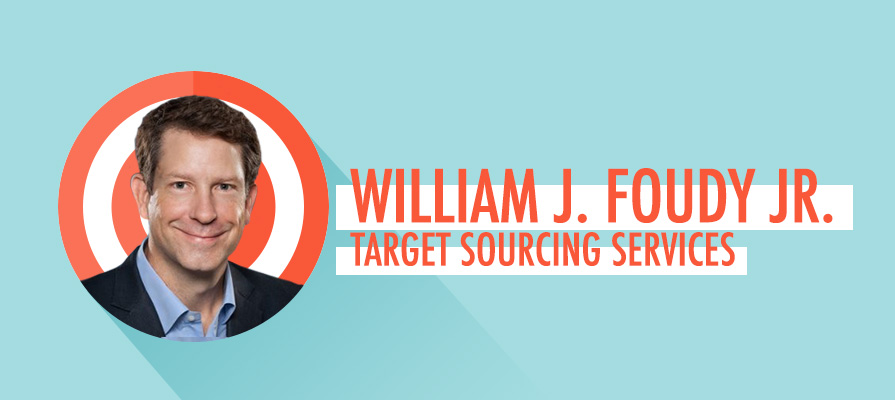 Target Names William J. Foudy, Jr. as President, Target Sourcing Services