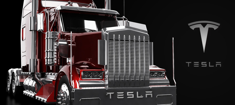 Elon Musk to Reveal Tesla Big-Rig Prototype Next Month