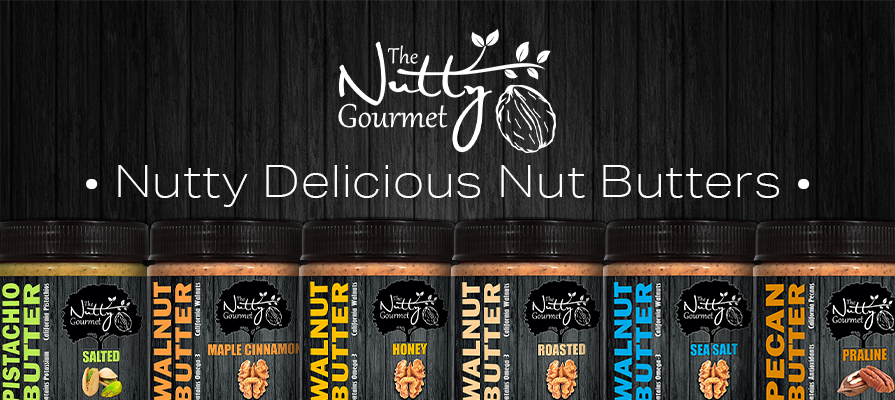 The Nutty Gourmet Launches New Line of Nut Butters