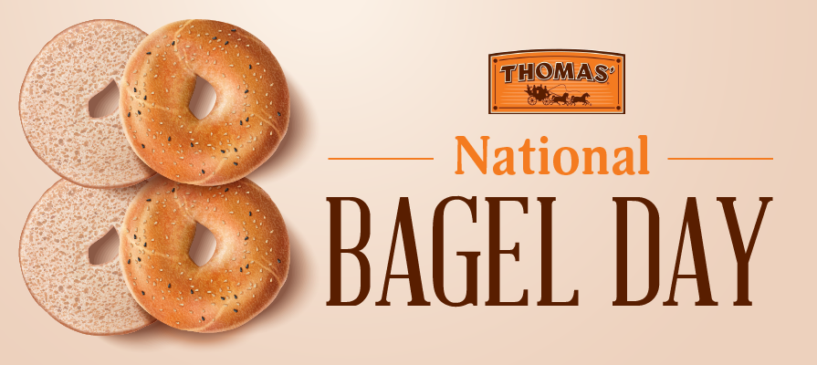 Thomas'® Pledges $100,000 In Partnership With Operation Warm To Celebrate National Bagel Day