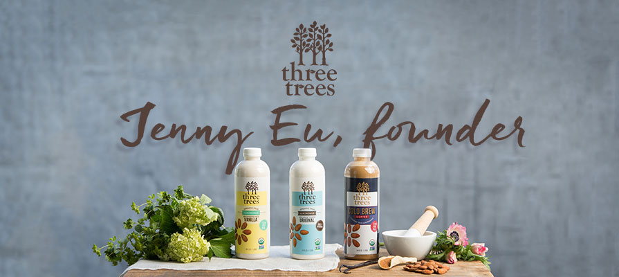 Three Trees Founder Jenny Eu Discusses Almondmilk Line