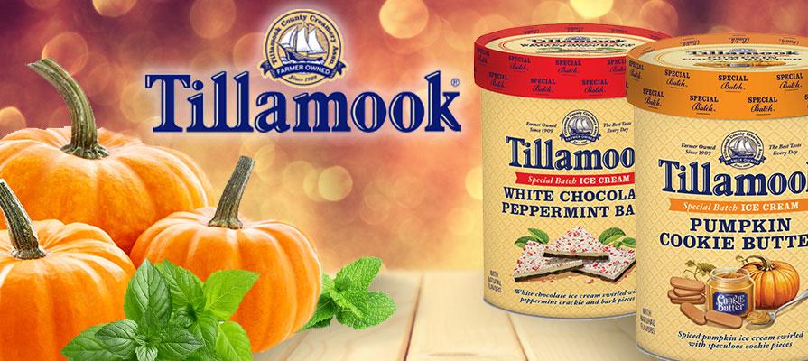 Tillamook Releases Limited Edition Seasonal Ice Cream Flavors