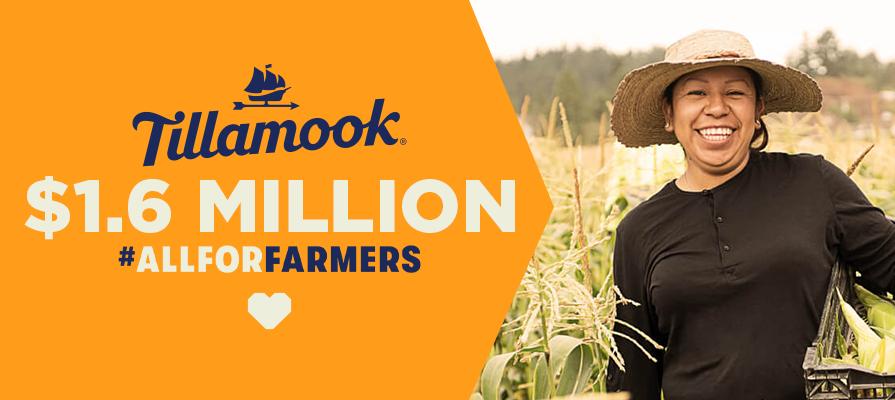 Tillamook Announces $1.6 Million Donation to Preserve Farming in America