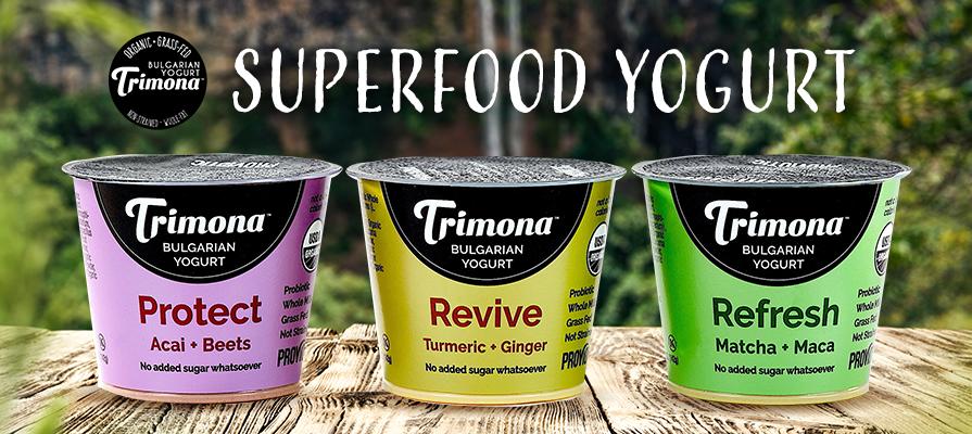 Trimona Foods Launches New Bulgarian-Style Yogurt