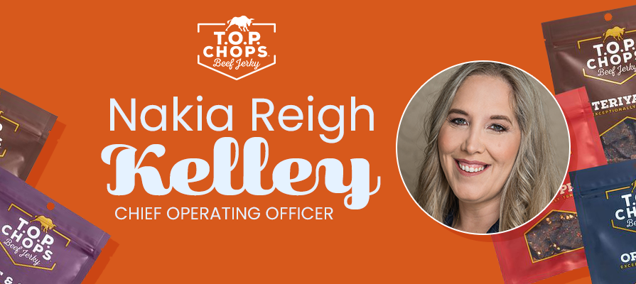TOP Chops Snacks Taps Nakia Reigh Kelley as New COO