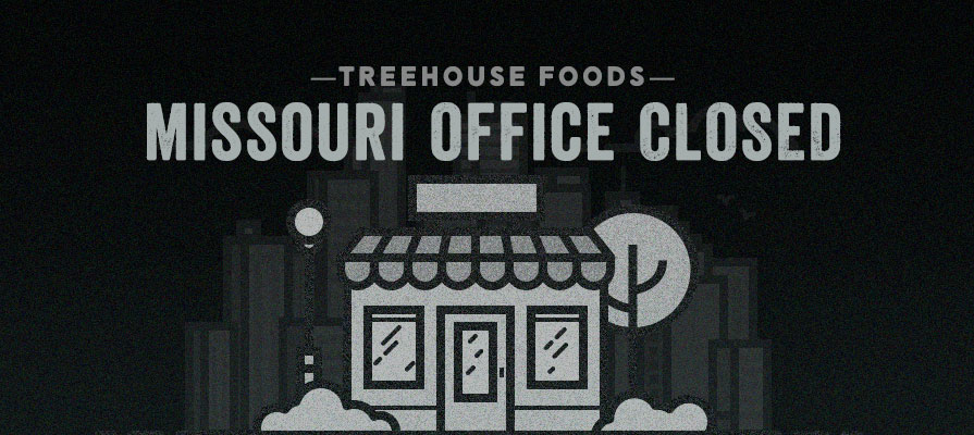 TreeHouse Foods to Shutter St. Louis, Missouri, Office