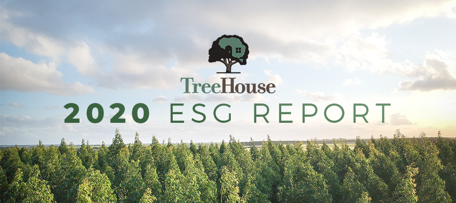 TreeHouse Foods Publishes Inaugural Environmental, Social, and Governance Report, Commits to 2025 Goals