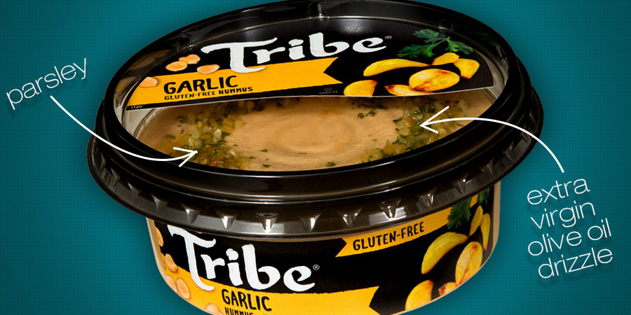 Tribe Outdoes Themselves with Intensified Garlic Hummus