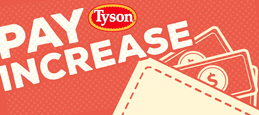 Tyson Foods to Increase Pay for U.S. Chicken Plant Employees