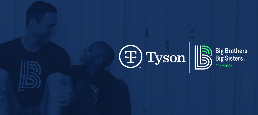 Tyson Foods and Big Brothers Big Sisters of America Team Up to Support America's Youth