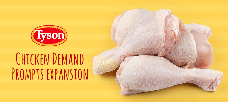Tyson Food Responds to Growing Poultry Demand With New Facility