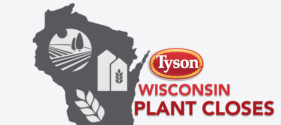 Tyson to Permanently Close Wisconsin Food Plant