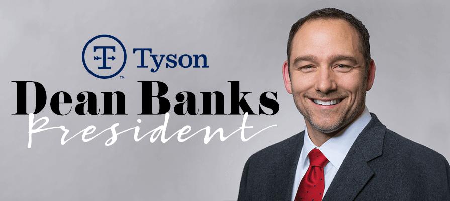 Tyson Foods Names Dean Banks President