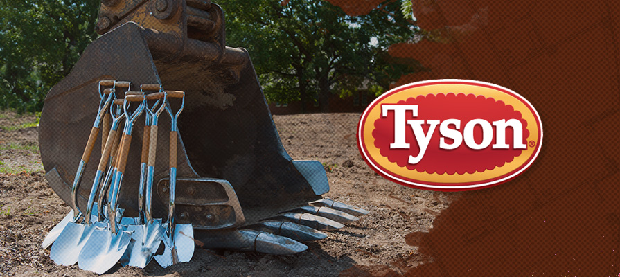 Tyson Foods, Inc. Breaks Ground on New $136 Million Facility
